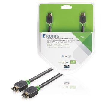 High Speed HDMI Kabel mit Ethernet HDMI Anschluss - HDMI Anschluss ...