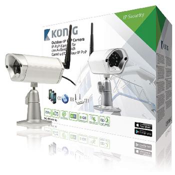 HD IP Camera Outdoor 720P Metal | Konig