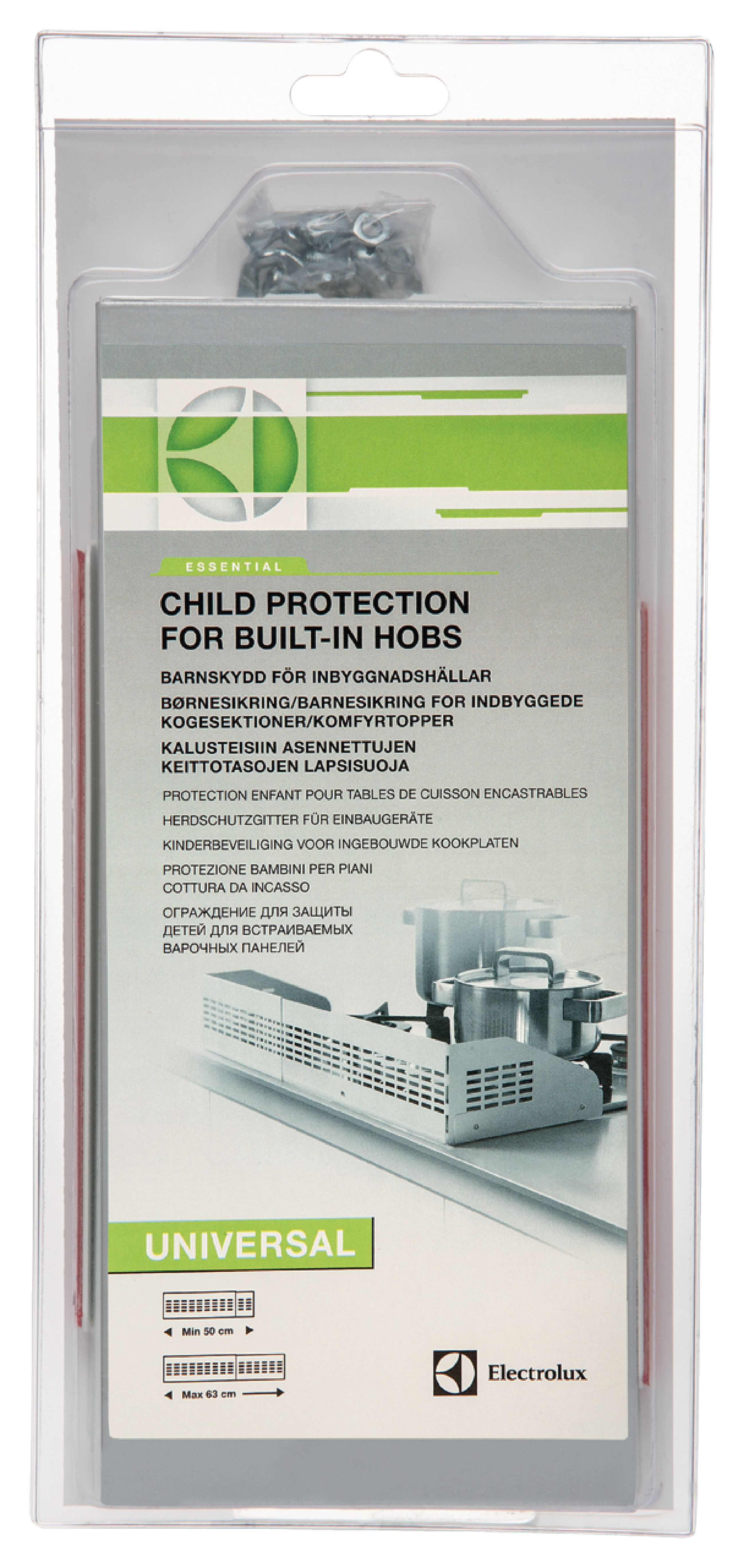 CHILD HOB PROTECTION 40-75 CM GREY