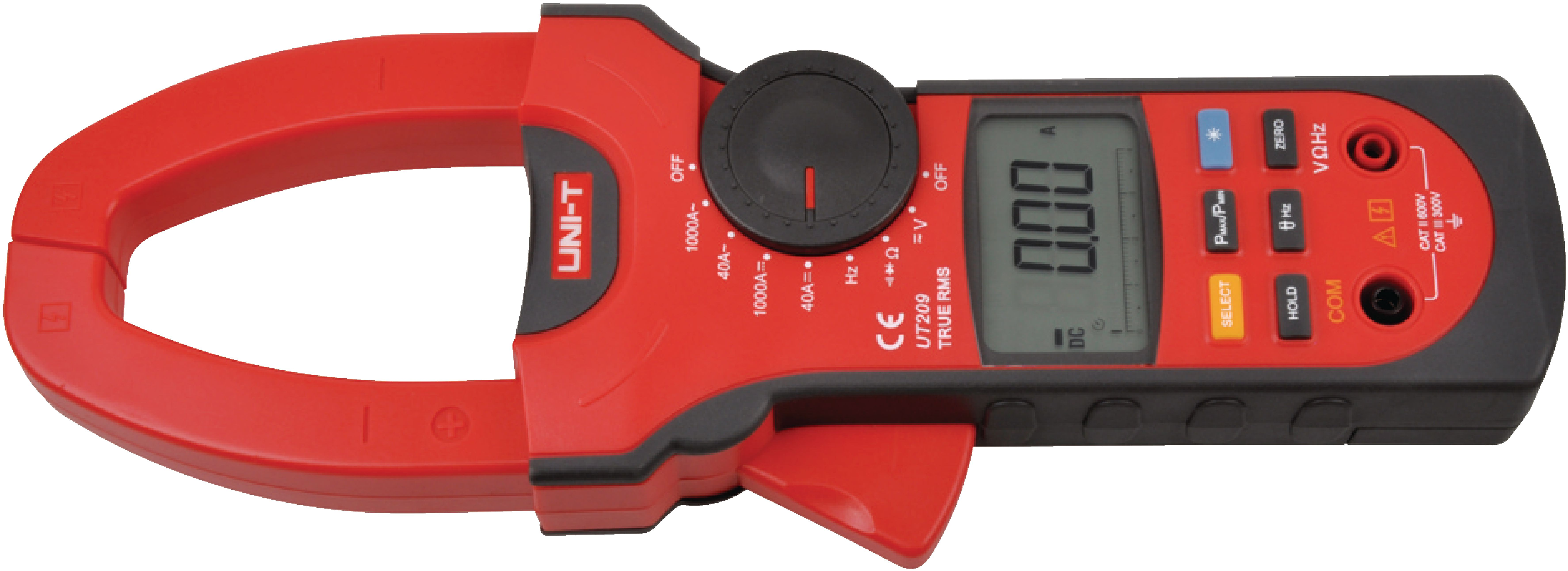 CURRENT CLAMP METER, 1000 AAC, 1000 ADC, TRMS