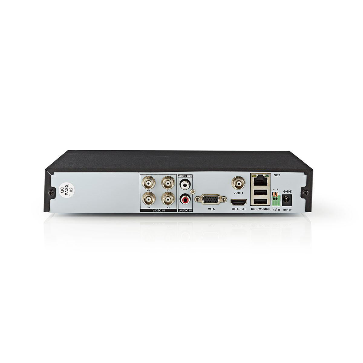 CCTV Security Recorder   4-Channel   Full HD   1 TB HDD