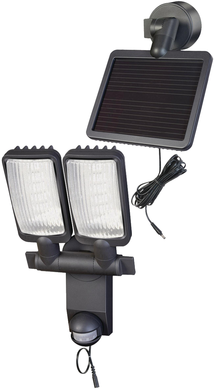 FOCO LED SOLAR PREMIUM DOBLE LV1205 P2 CON GRADO DE PROTECCIóN IP44