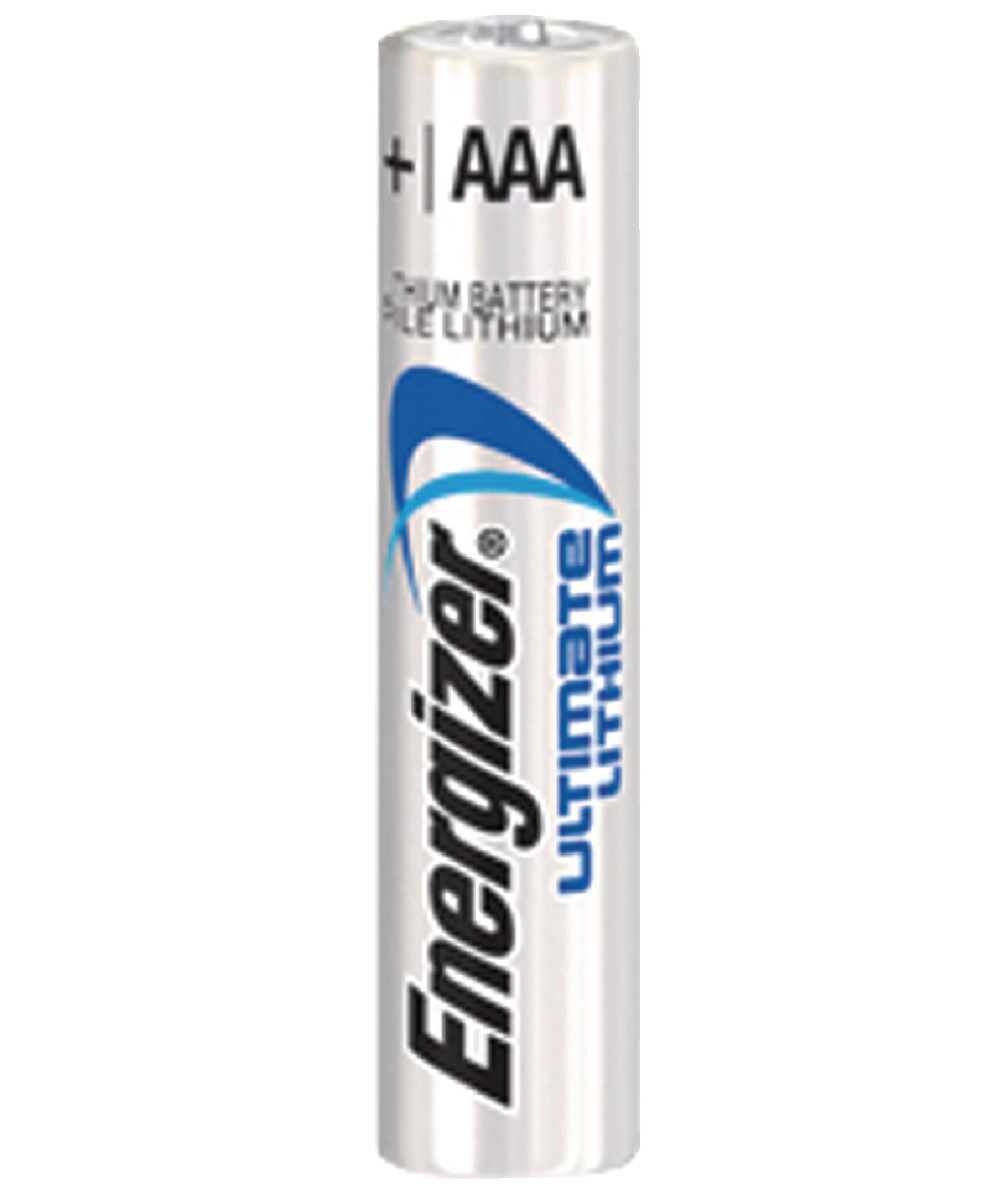 ENLITHIUMAAAP4 - Energizer - Lithium Battery AAA 1.5 V