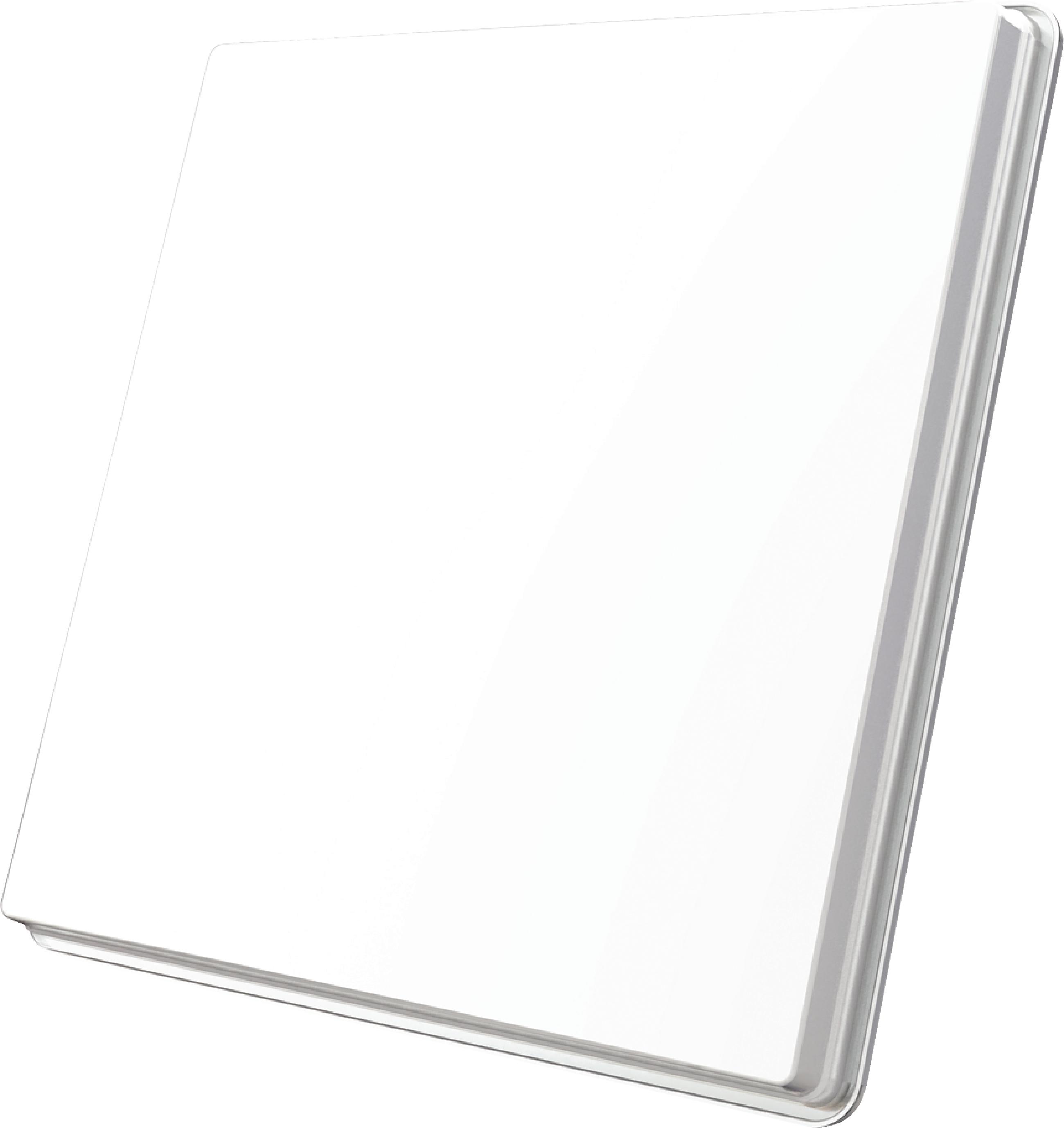 H50D FLAT SATELLITE DISH SINGLE LNB WHITE
