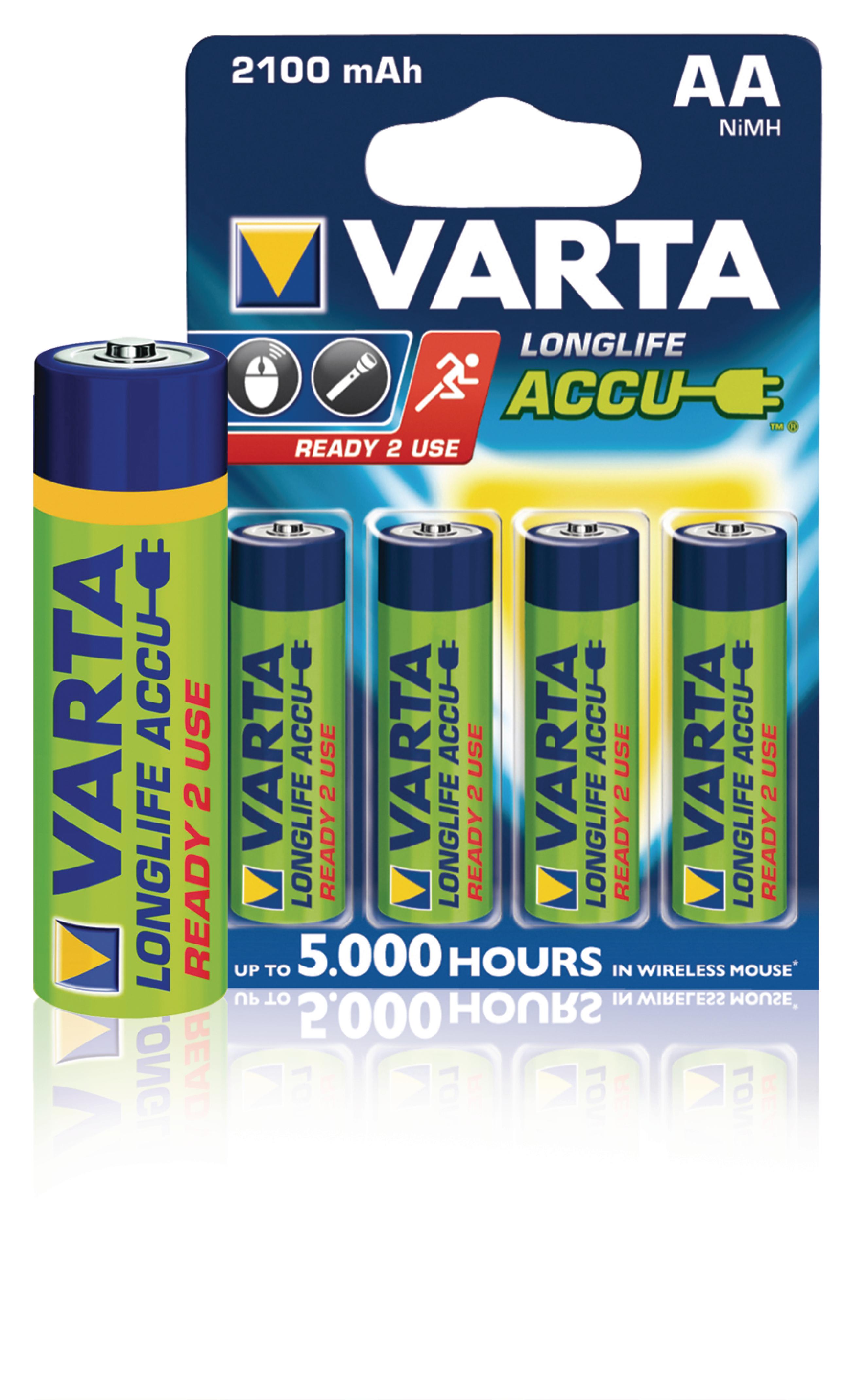 VARTA-56706B - Varta - Rechargeable NiMH Battery AA 1.2 V